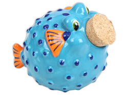 Blow fish Jar