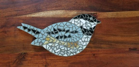 Chickadee Bird Mosaic Kit