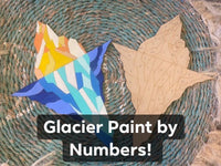 Glacier Alaska Paint by Numbers