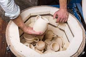 Bisque Pottery Firing