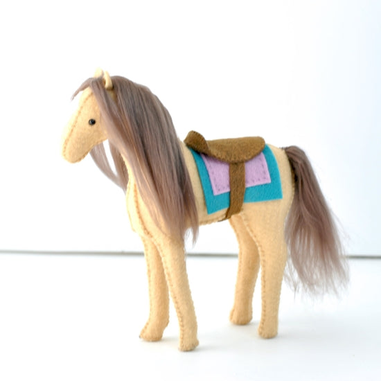Felt Horse Sewing Craft Kit