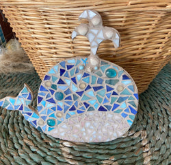 Large Whale Mosaic Kit