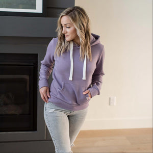 Dusty Purple Everyday Jersey Hoodie