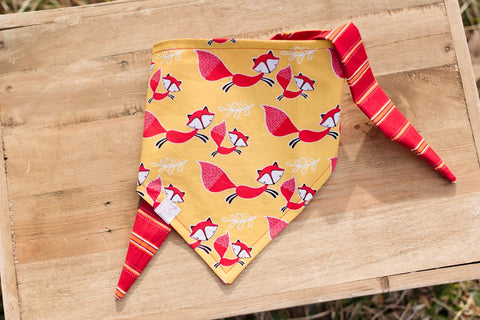 Fox Dog Bandana