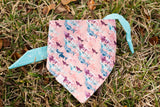 Sharks on Pink Dog Bandana