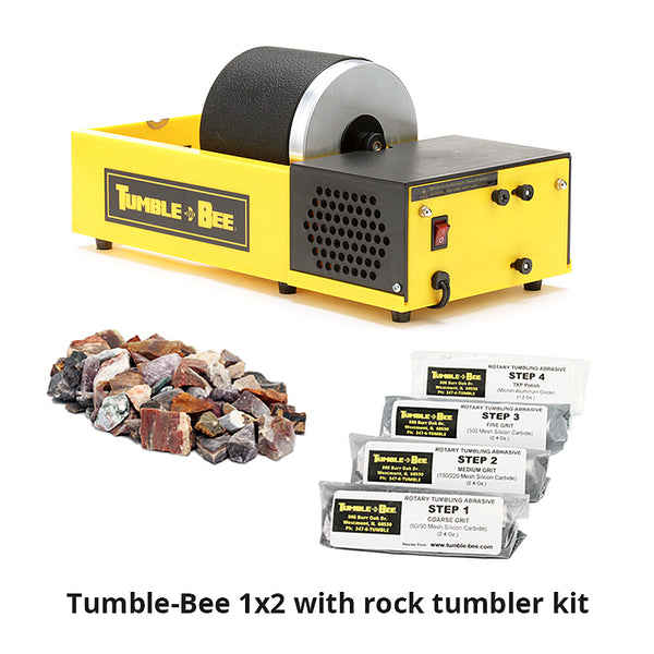 Tumble-Bee 1x2 rock tumbler with rock tumbler kit