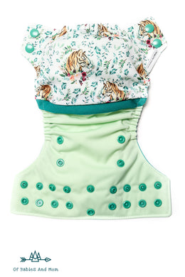 Cloth Diaper - Tigers