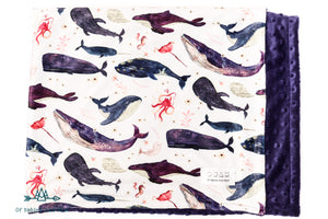 Doudou Chant de la baleine Indigo - Of Babies And Mom