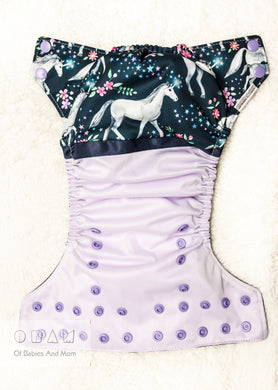 Cloth Diaper - Unicorn