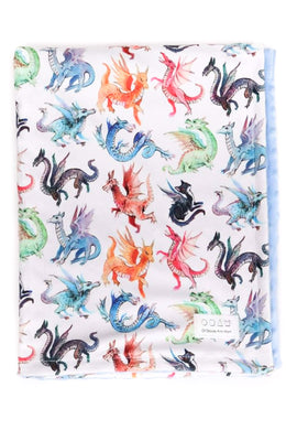 Of Babies And Mom | Doudou dragon multicolor