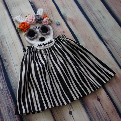 Sugar Scull  Dress