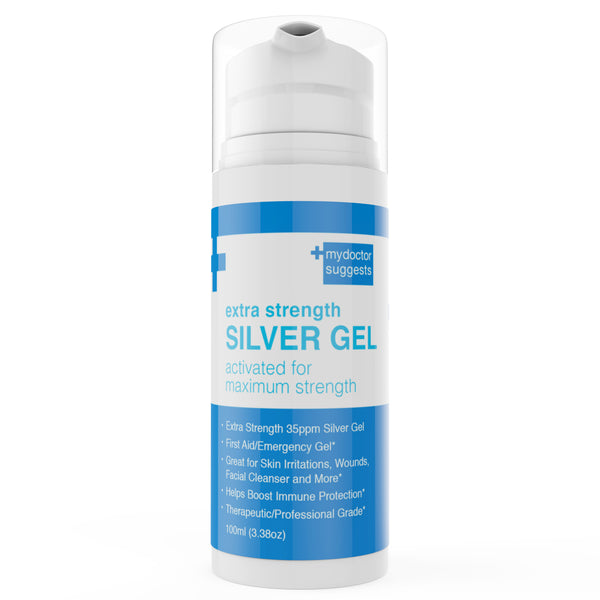 1 Silver Gel Extra Strength - Structured Colloidal Silver