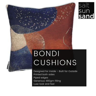 Bondi Springs - 45 x 45 cm Piped Cushion