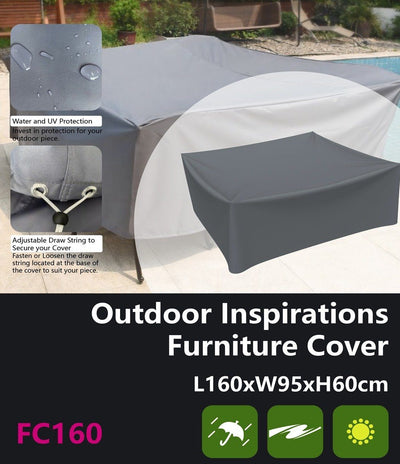 Outdoor Inspirations Furniture Cover L160*W95*H60cm