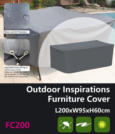 Outdoor Inspirations Furniture Cover L200*W95*H60cm