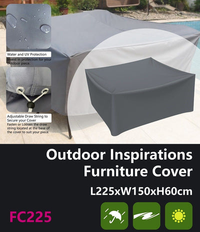 Outdoor Inspirations Furniture Cover 225*W150*H60cm