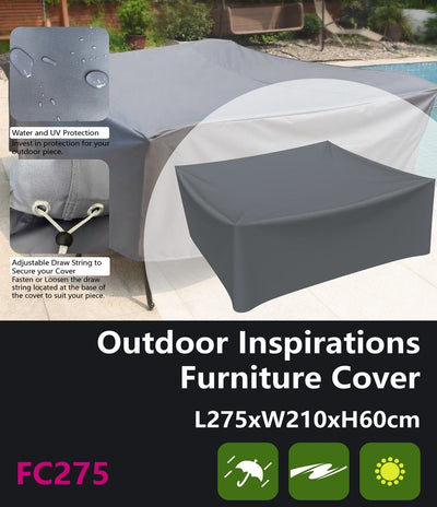 Outdoor Inspirations Furniture Cover L275*W210*H60cm