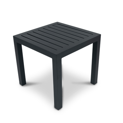 San Sebastian Side Table in Gunmetal