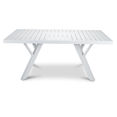 Morocco Coffee Table in Arctic White