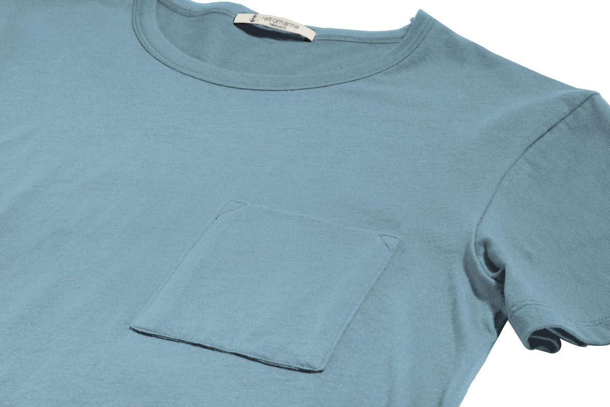 Mint Green Marine Tshirt retromarine Tops Ready To Wear