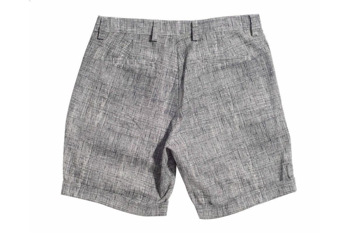 Black Doodle retromarine Shorts Bottoms Ready To Wear