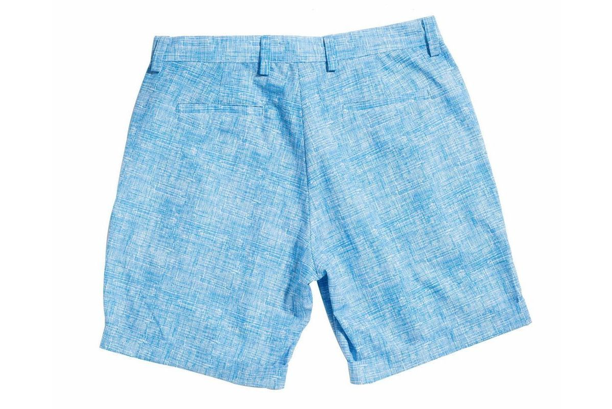 Blue Doodle retromarine Shorts Bottoms Ready To Wear
