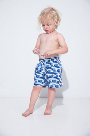 Tube Tvs Kids Swim Trunk