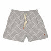 horizontal links white - Retromarine - Men's Swim Trunks