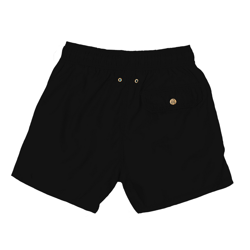 black - mens swimwear - retromarine