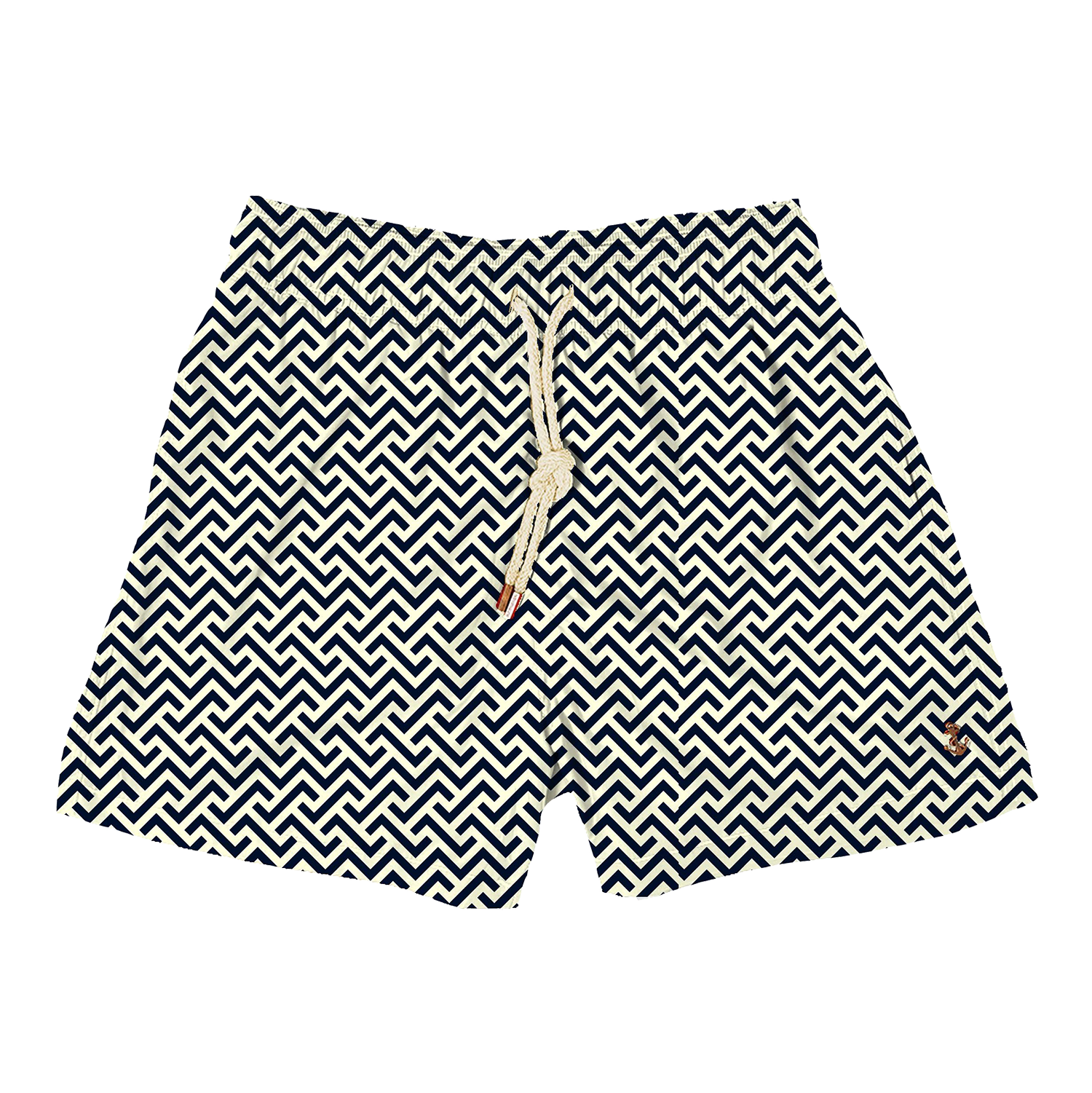 Kids - Zig Zags Navy Cream