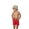 kids boys red swimwear - retromarine