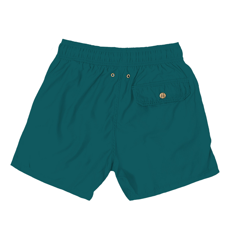 teal mens swimwear - retromarine