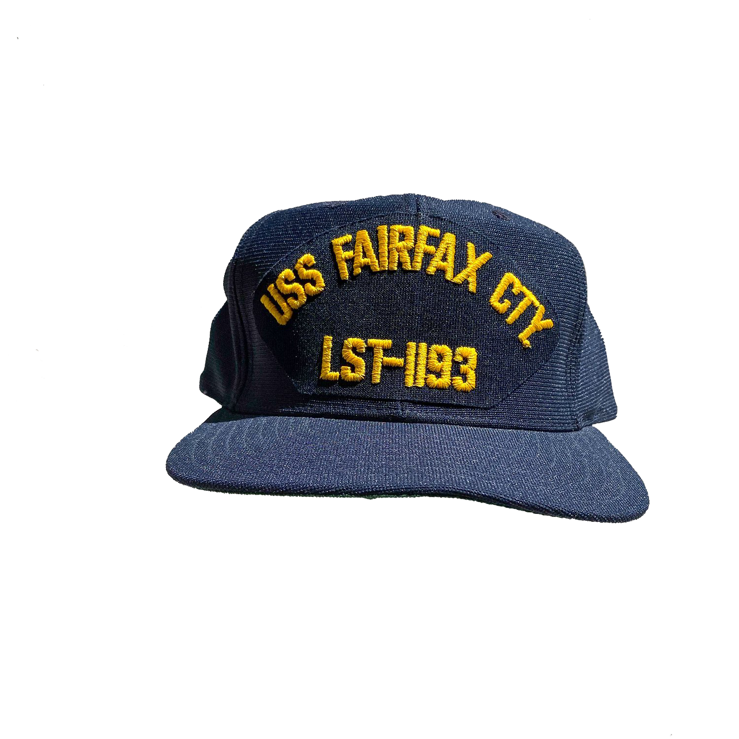 Vintage USS Fairfax County U.S. Navy Hat