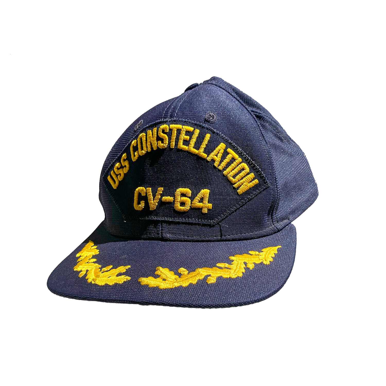 Vintage USS Constellation Navy Hat