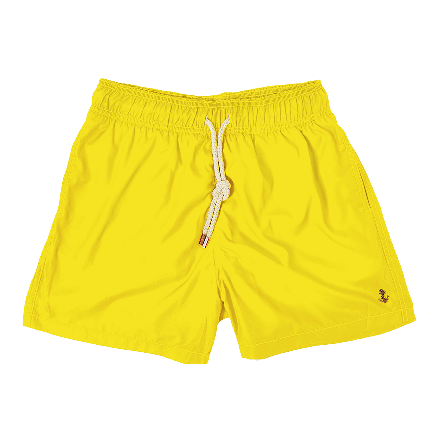 90's yellow - mens swim trunks - retromarine