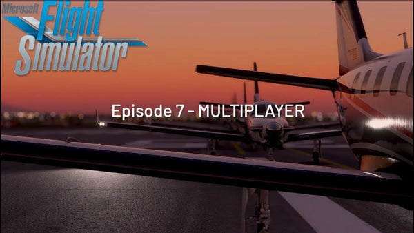 Multiplayer Microsoft Flight Simulator 2020