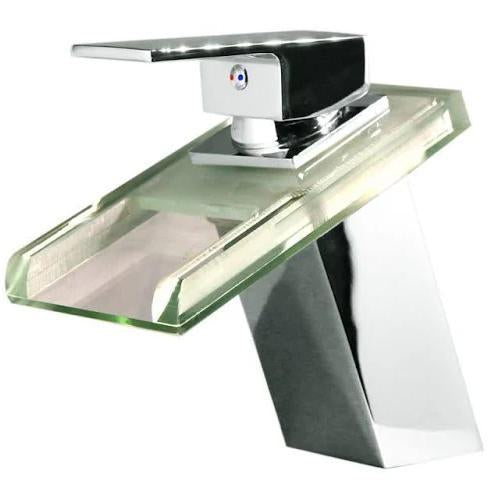 Bathroom Waterfall LED Faucet
