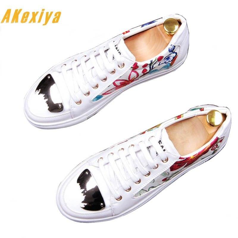 Men Sheet metal sheos Causal  Shoes Loafers shoes
