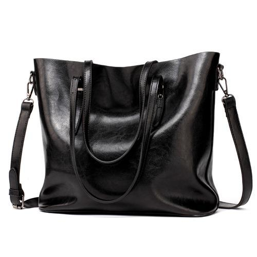 Women Leather Handbags Women's PU Tote Bag Large Female Shoulder