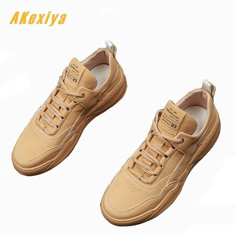 British New Mens Retro Design Casual charm Flats Designer platform Shoes