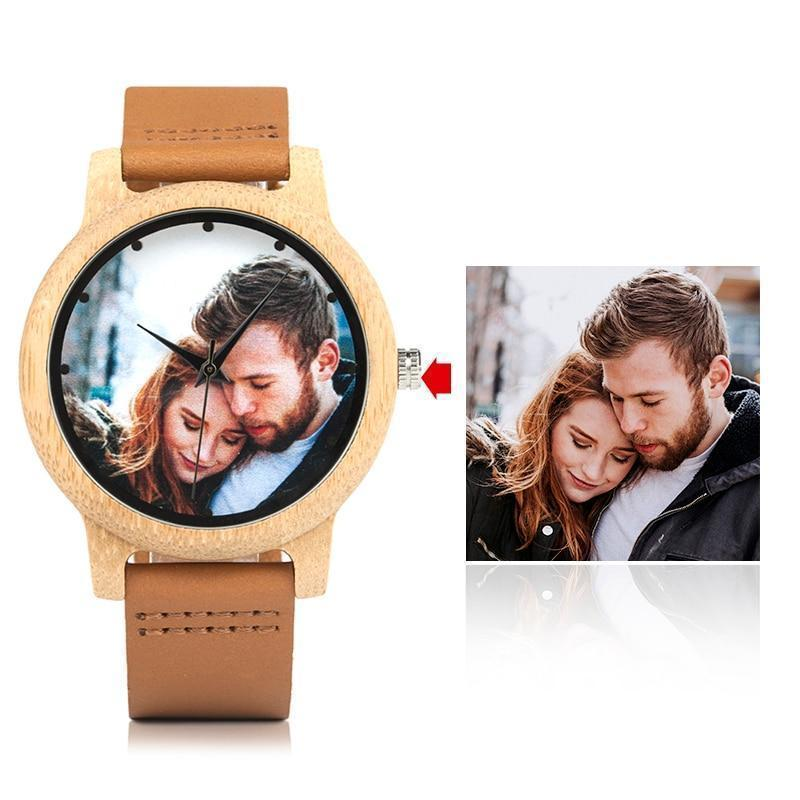 Wooden Couple Watch