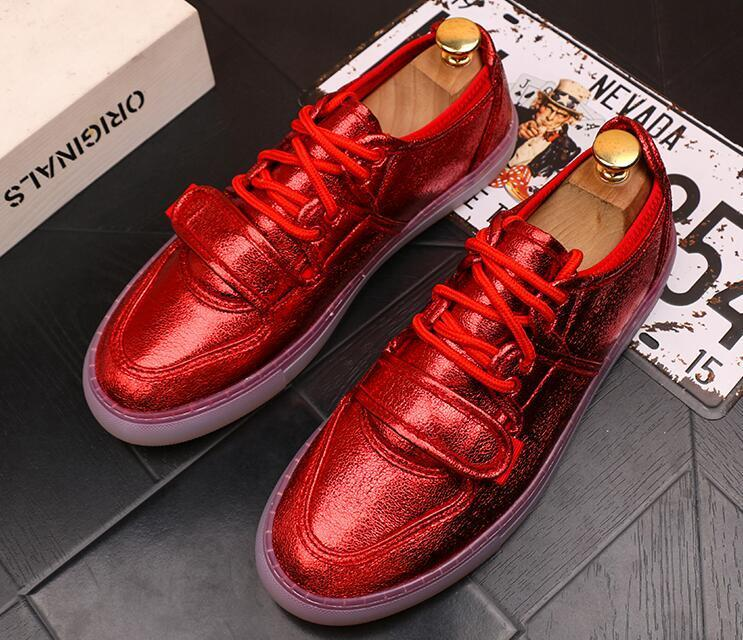 Fashion Designer Men Trendsetter Jelly sole Trendy Casual thick bottom Shoes