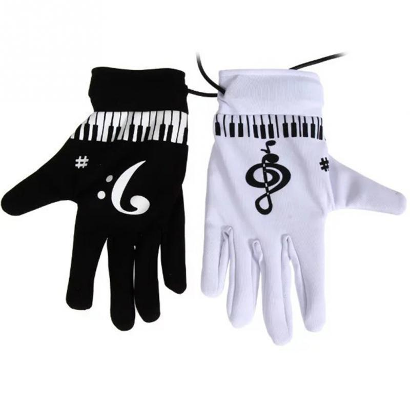 Electric Air Piano Gloves