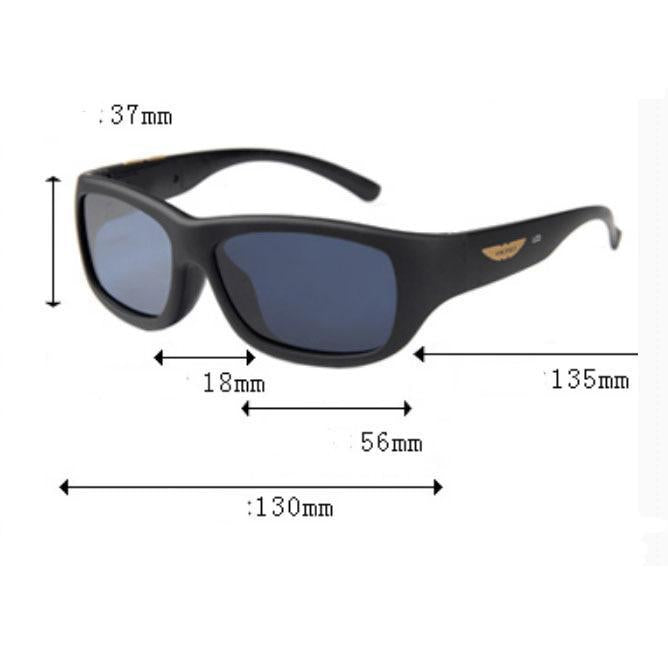 Polarized Sunglasses with Adjustable Brightness