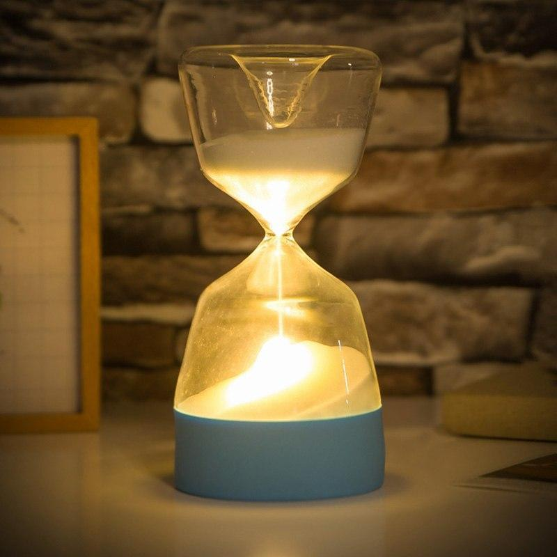 LED Hour Glass Night Light