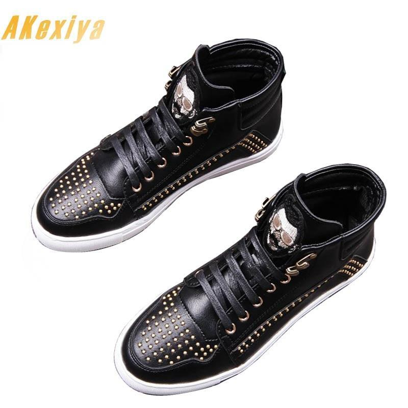 Men's Designer Rivet embroidery Shoes Loafers