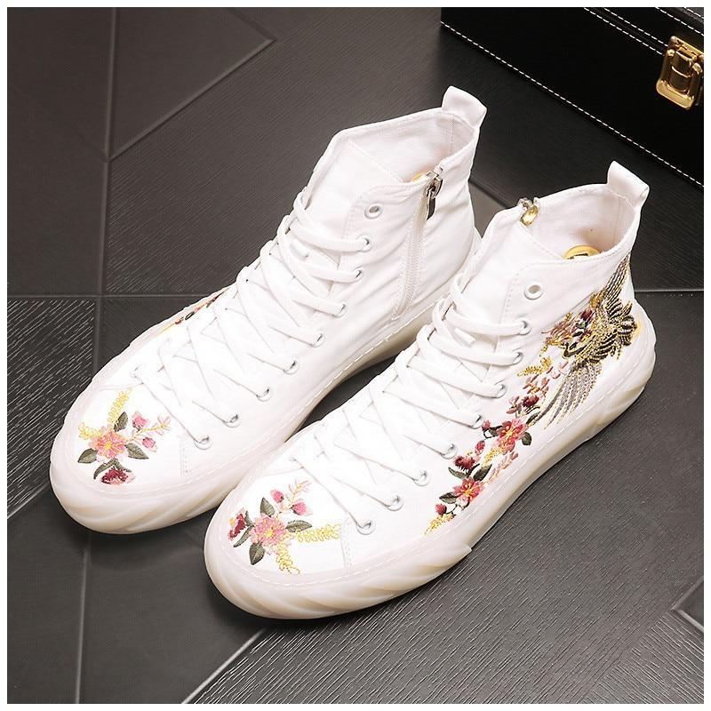 New luxury designer Summer cloth breathable embroidery flower  flats Shoes