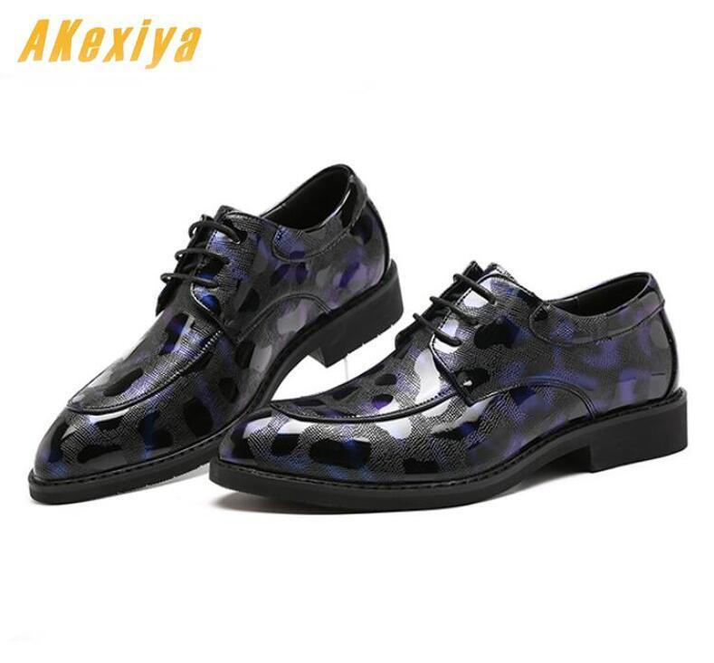 Newest Men luxury Designer Lace-up Casual Shoes