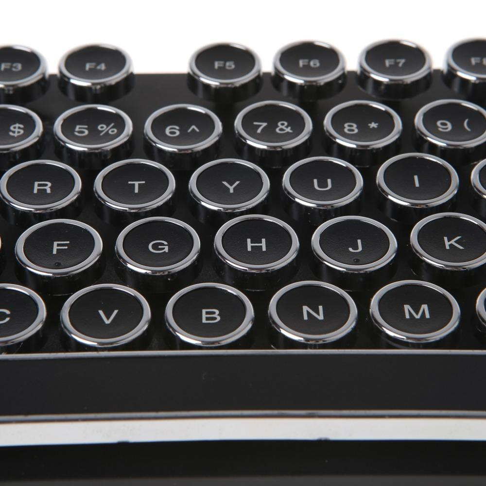 Retro Typewriter Keyboard Keycaps