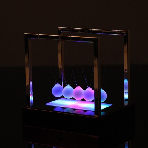 Newton's Cradle LED Light Up Desktop